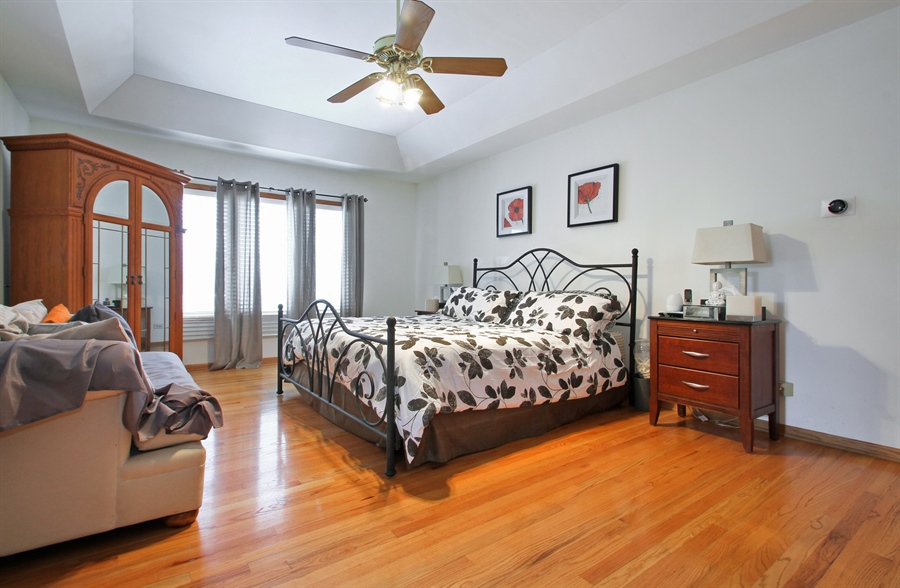 Real Estate Photography - 9140 N Washington St, Niles, IL, 60714 - Master Bedroom