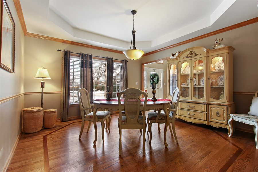 Real Estate Photography - 9140 N Washington St, Niles, IL, 60714 - Dining Room