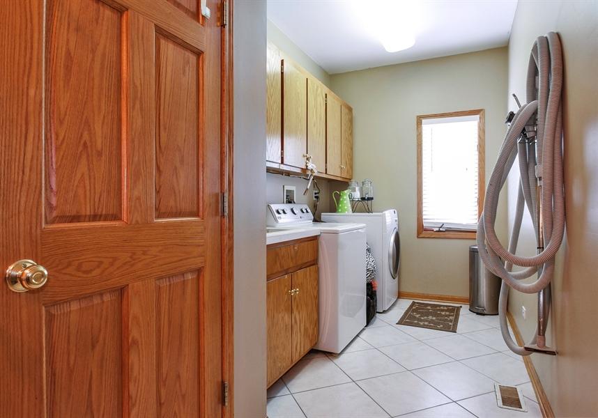 Real Estate Photography - 9140 N Washington St, Niles, IL, 60714 - Laundry Room
