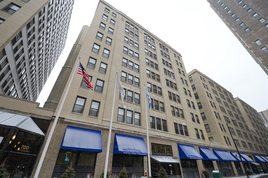 Real Estate Photography - 680 S Federal Street, 504, Chicago, IL, 60605 - Front View