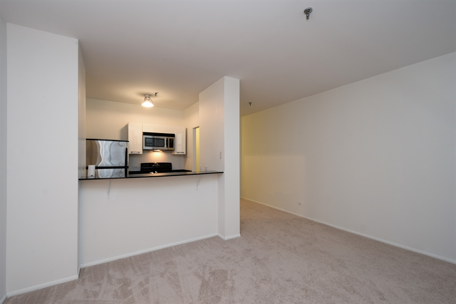 Real Estate Photography - 680 S Federal Street, 504, Chicago, IL, 60605 - Kitchen / Living Room