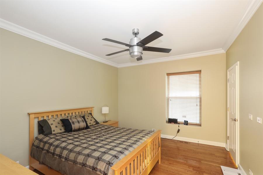 Real Estate Photography - 4744 S Forrestville, 1N, Chicago, IL, 60615 - Main-Floor Master Bedroom