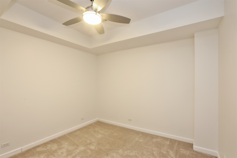 Real Estate Photography - 4744 S Forrestville, 1N, Chicago, IL, 60615 - Lower-Level 4th Bedroom
