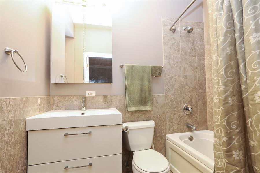 Real Estate Photography - 4744 S Forrestville, 1N, Chicago, IL, 60615 - Master Bath