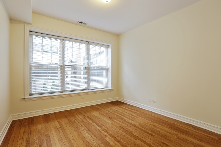 Real Estate Photography - 1428 S. Lunt Avenue, 1N, Chicago, IL, 60626 - Master Bedroom