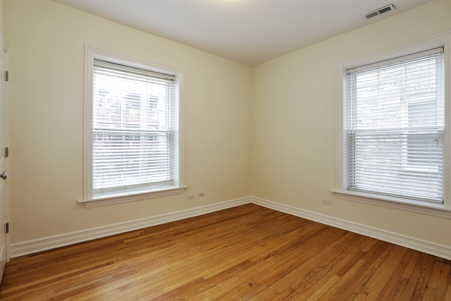 Real Estate Photography - 1428 S. Lunt Avenue, 1N, Chicago, IL, 60626 - Bedroom