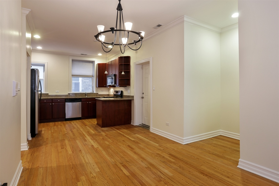 Real Estate Photography - 1428 S. Lunt Avenue, 1N, Chicago, IL, 60626 - Dining Room