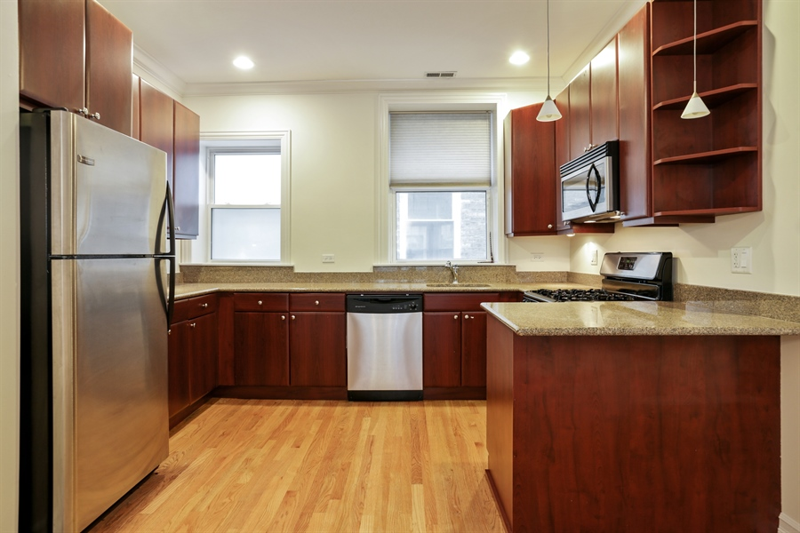 Real Estate Photography - 1428 S. Lunt Avenue, 1N, Chicago, IL, 60626 - Kitchen