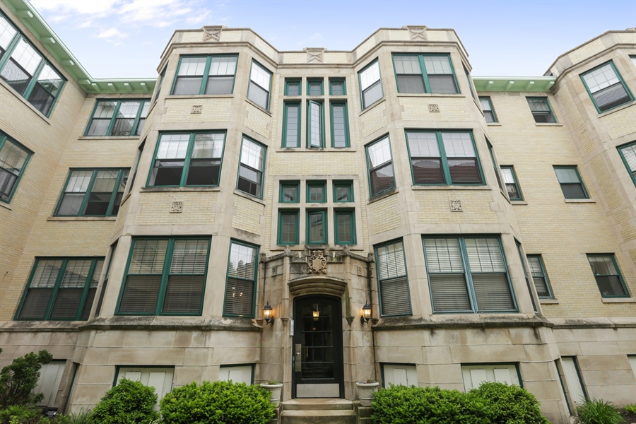 Real Estate Photography - 1428 S. Lunt Avenue, 1N, Chicago, IL, 60626 - Front View