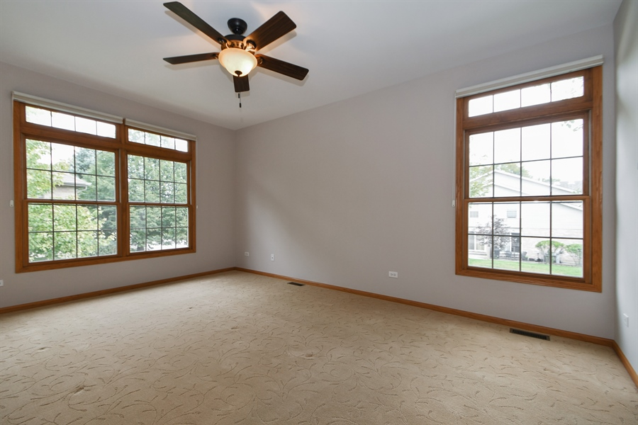 Real Estate Photography - 8702 Trinity Drive, Orland Park, IL, 60462 - Master Bedroom