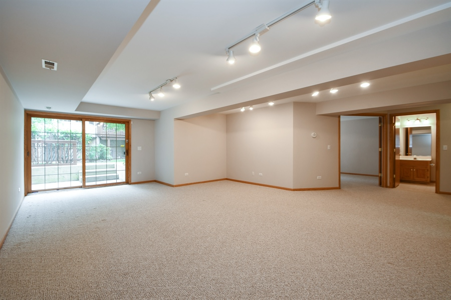 Real Estate Photography - 8702 Trinity Drive, Orland Park, IL, 60462 - Recreational Room