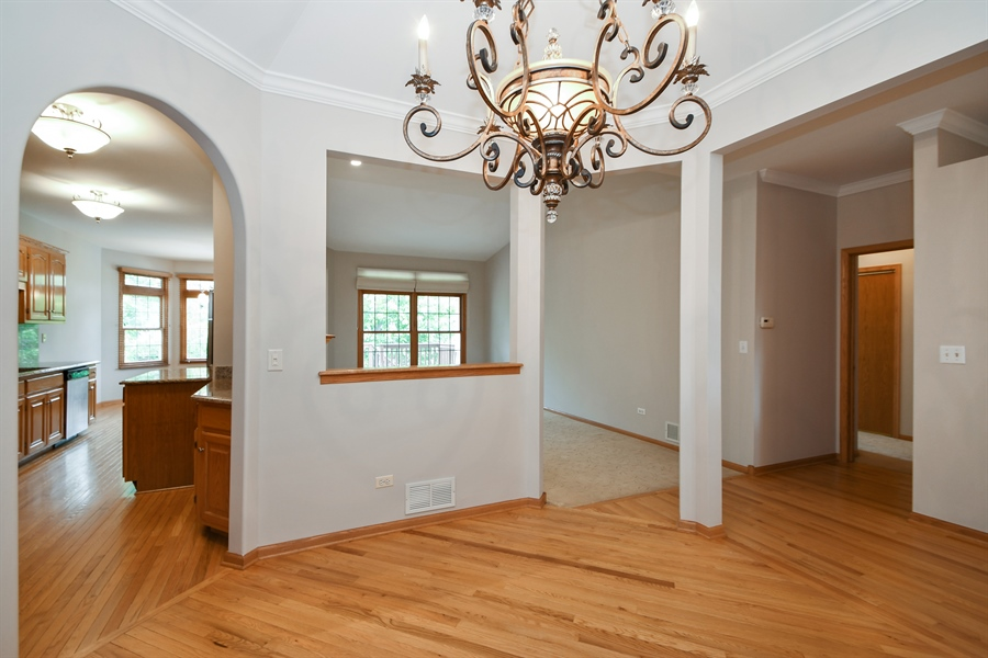 Real Estate Photography - 8702 Trinity Drive, Orland Park, IL, 60462 - Dining Room