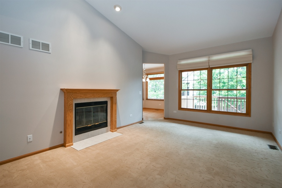 Real Estate Photography - 8702 Trinity Drive, Orland Park, IL, 60462 - Family Room