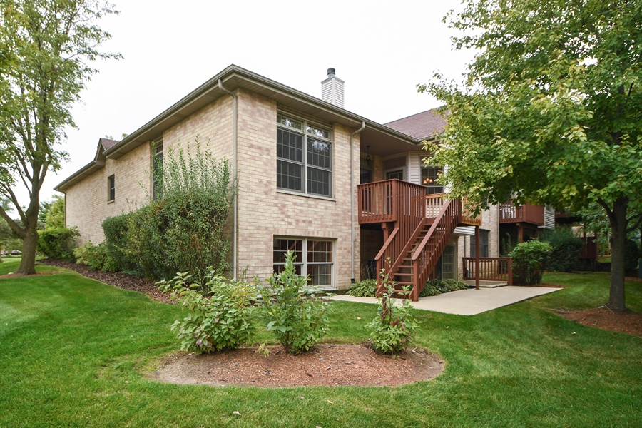 Real Estate Photography - 8702 Trinity Drive, Orland Park, IL, 60462 - Rear View