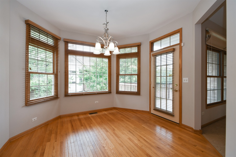 Real Estate Photography - 8702 Trinity Drive, Orland Park, IL, 60462 - Breakfast Nook