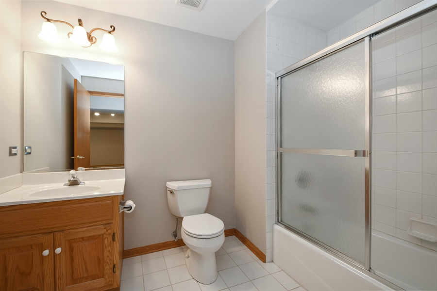 Real Estate Photography - 8702 Trinity Drive, Orland Park, IL, 60462 - 2nd Bathroom