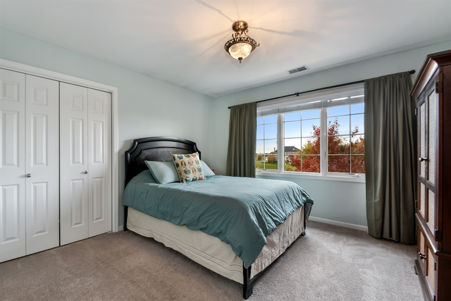 Real Estate Photography - 22761 Stanford Dr, Frankfort, IL, 60423 - 2nd Bedroom
