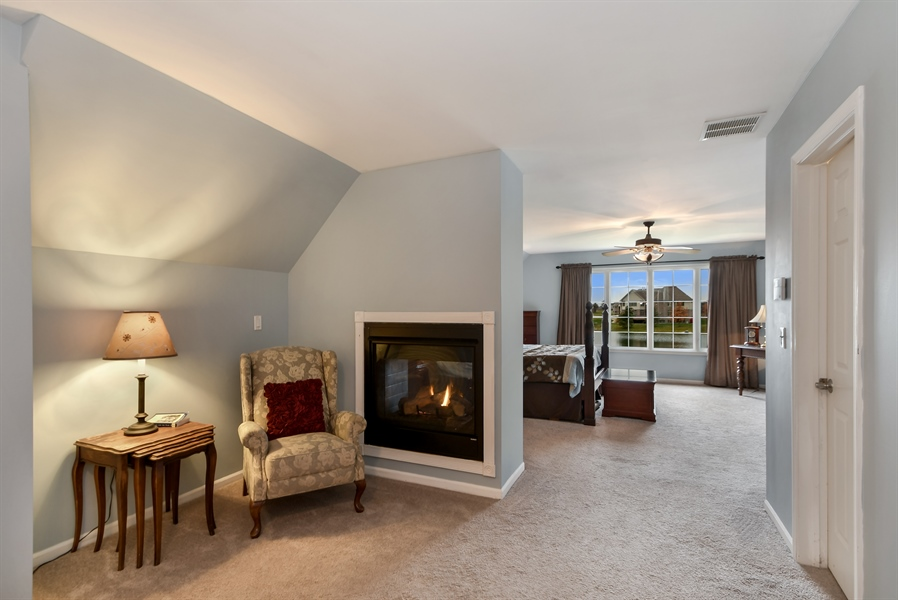 Real Estate Photography - 22761 Stanford Dr, Frankfort, IL, 60423 - Master Bedroom
