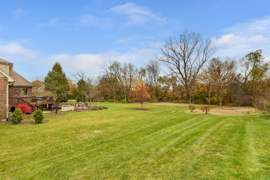 Real Estate Photography - 22761 Stanford Dr, Frankfort, IL, 60423 - Back Yard