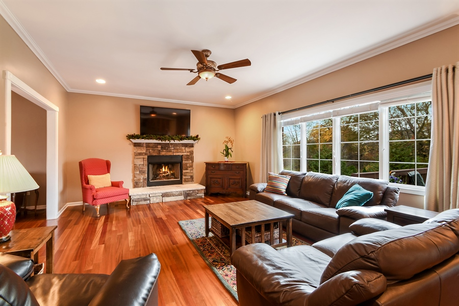 Real Estate Photography - 22761 Stanford Dr, Frankfort, IL, 60423 - Family Room