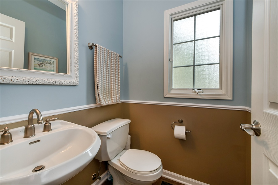 Real Estate Photography - 22761 Stanford Dr, Frankfort, IL, 60423 - Half Bath