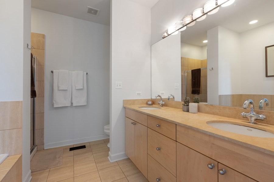 Real Estate Photography - 2036 W LeMoyne B, Chicago, IL, 60614 - Master Bathroom