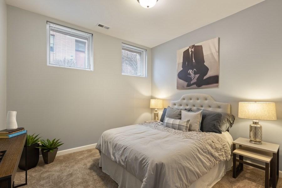 Real Estate Photography - 2036 W LeMoyne B, Chicago, IL, 60614 - Third Bedroom