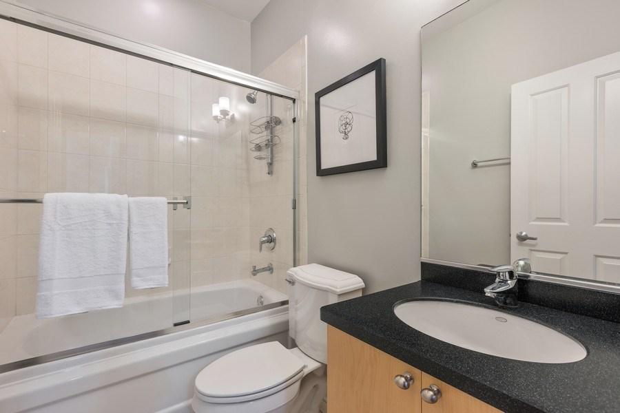 Real Estate Photography - 2036 W LeMoyne B, Chicago, IL, 60614 - Third Bathroom