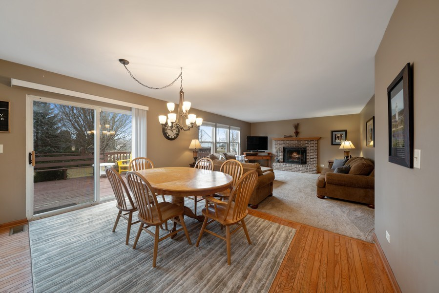Real Estate Photography - 2003 Wedgeport Circle, Romeoville, IL, 60446 - Breakfast Area