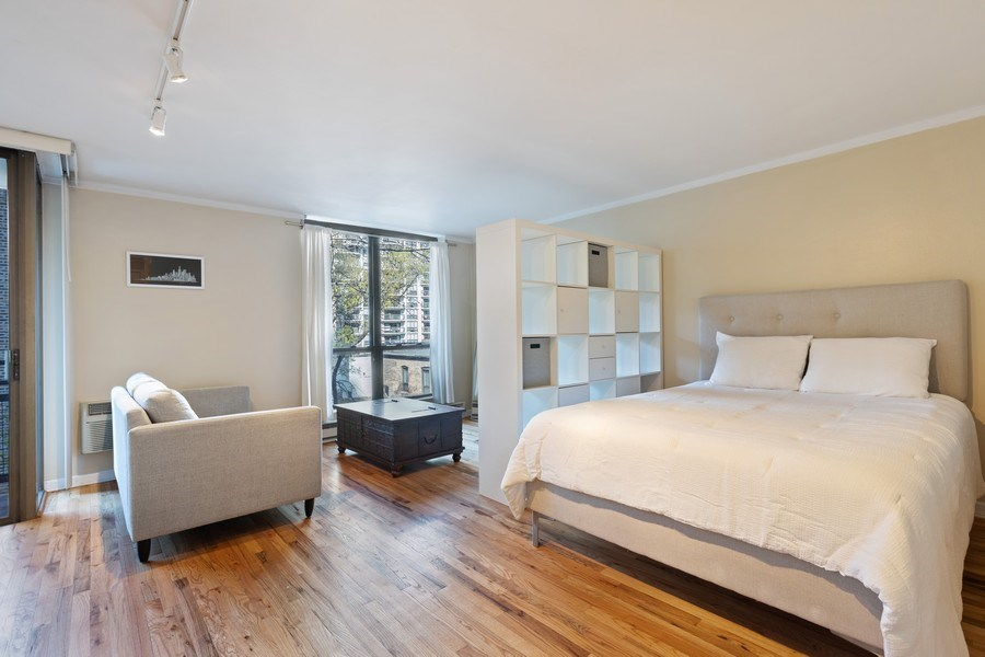 Real Estate Photography - 2600 N Hampden, Unit D5, Chicago, IL, 60614 - Bedroom