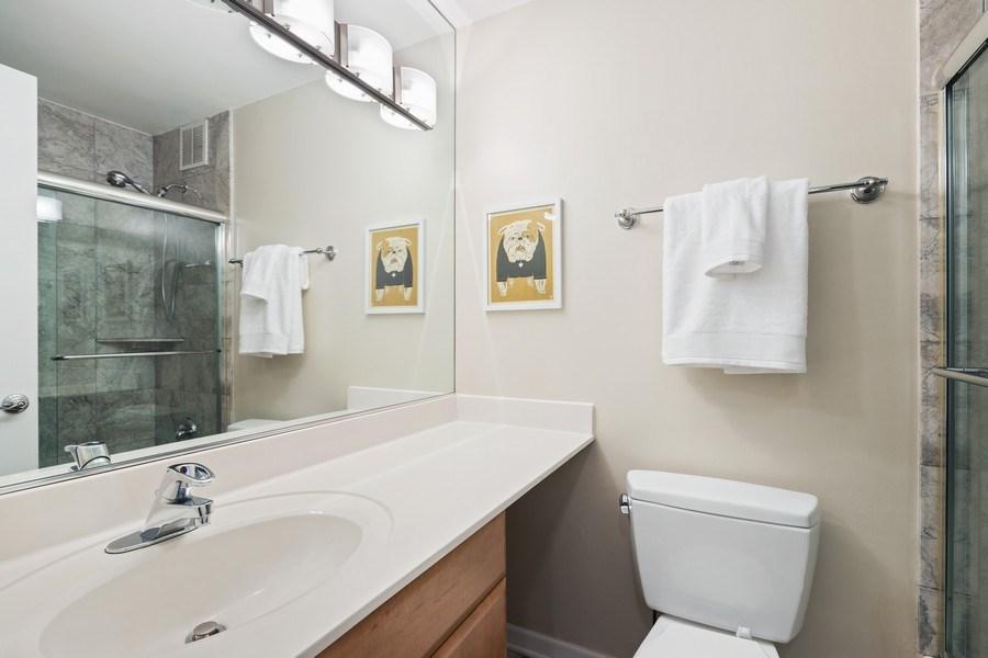 Real Estate Photography - 2600 N Hampden, Unit D5, Chicago, IL, 60614 - Bathroom