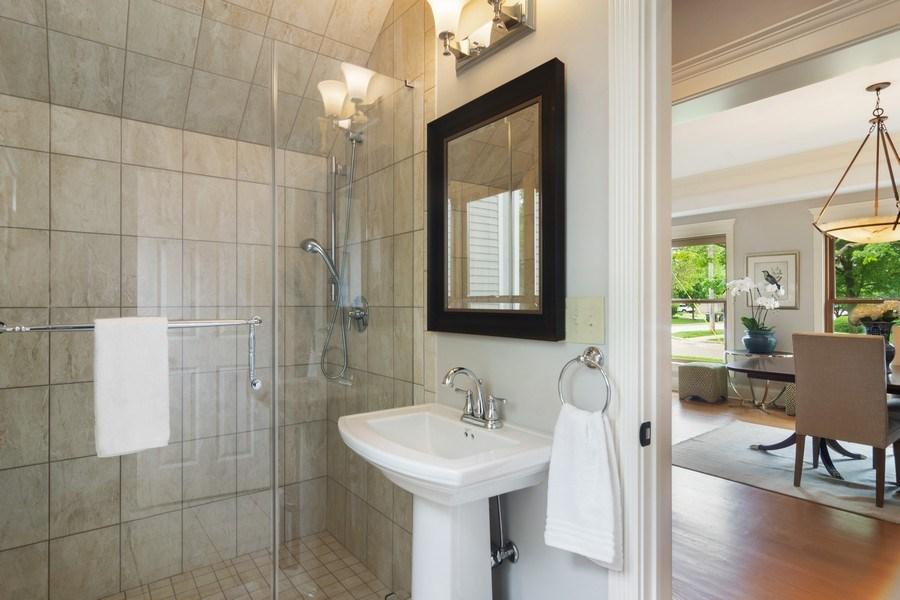 Real Estate Photography - 316 Dundee Avenue, Barrington, IL, 60010 - 3rd Bathroom
