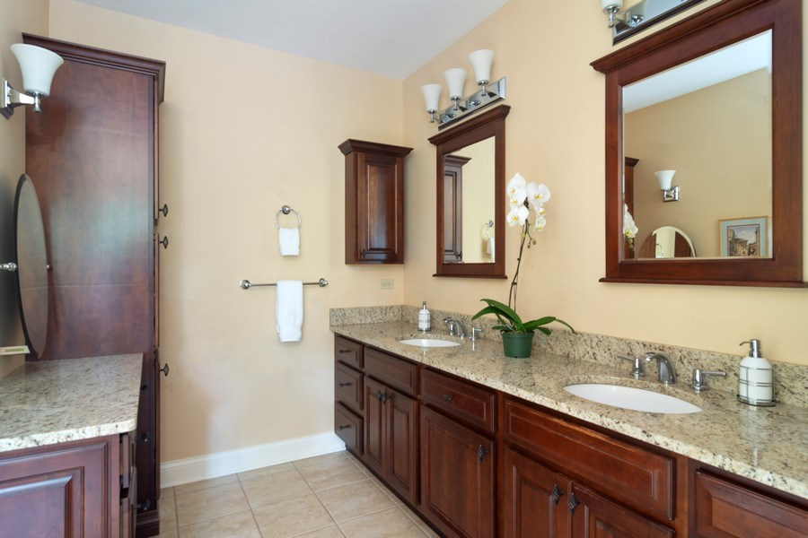Real Estate Photography - 316 Dundee Avenue, Barrington, IL, 60010 - Master Bathroom