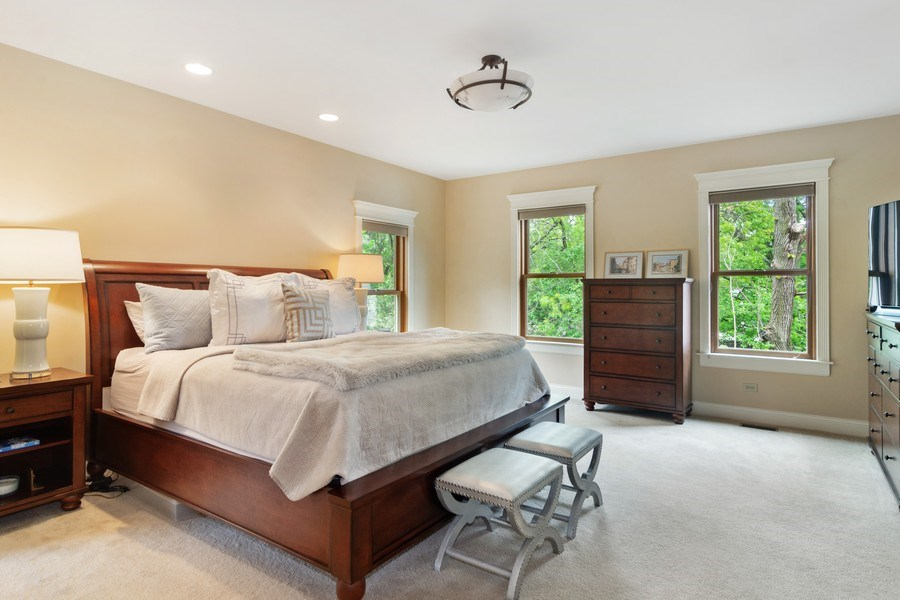 Real Estate Photography - 316 Dundee Avenue, Barrington, IL, 60010 - Master Bedroom