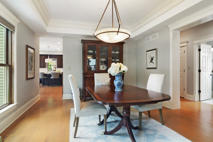 Real Estate Photography - 316 Dundee Avenue, Barrington, IL, 60010 - Dining Room