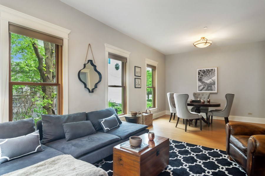 Real Estate Photography - 316 Dundee Avenue, Barrington, IL, 60010 - Family Room
