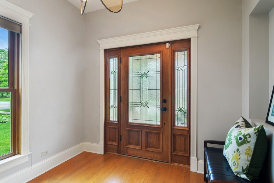 Real Estate Photography - 316 Dundee Avenue, Barrington, IL, 60010 - Foyer