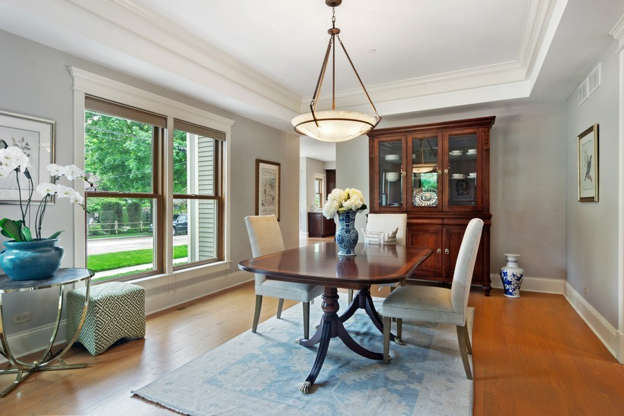 Real Estate Photography - 316 Dundee Avenue, Barrington, IL, 60010 - Dining Area
