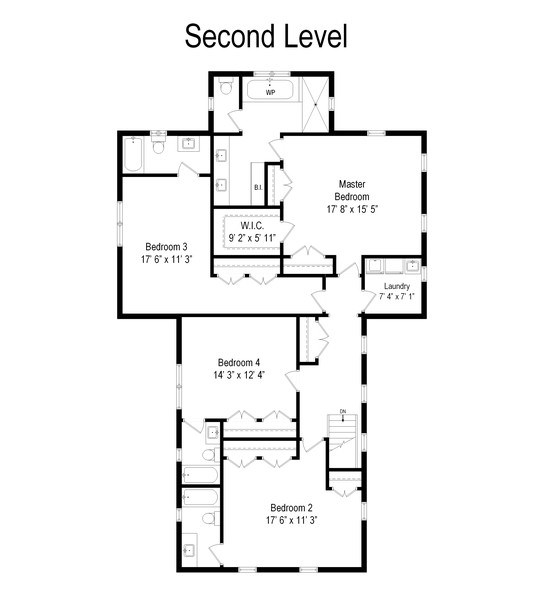 Real Estate Photography - 316 Dundee Avenue, Barrington, IL, 60010 - Floor Plan