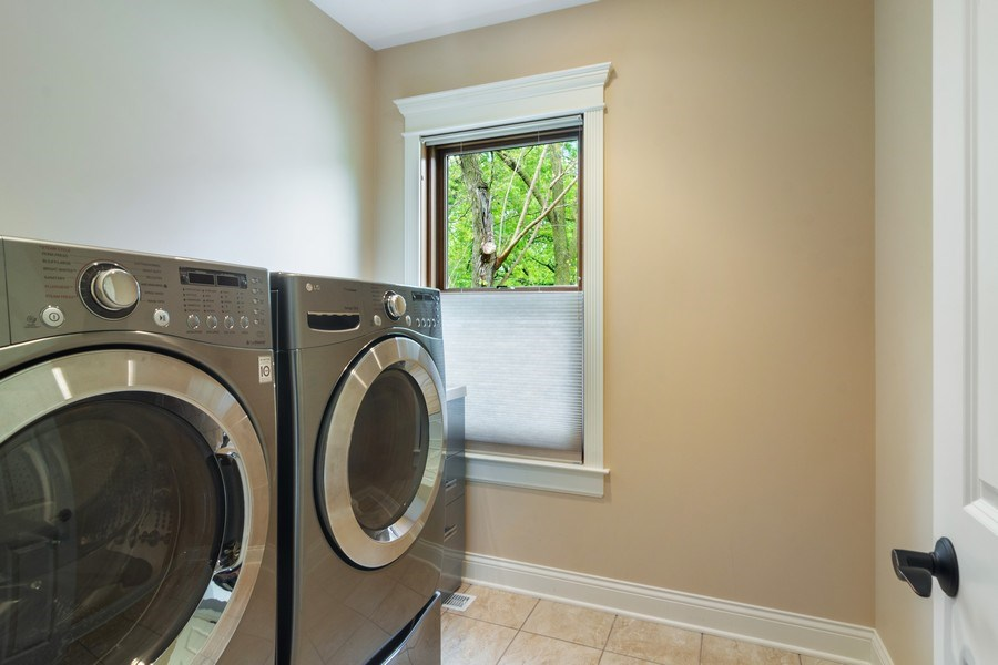 Real Estate Photography - 316 Dundee Avenue, Barrington, IL, 60010 - Laundry Room