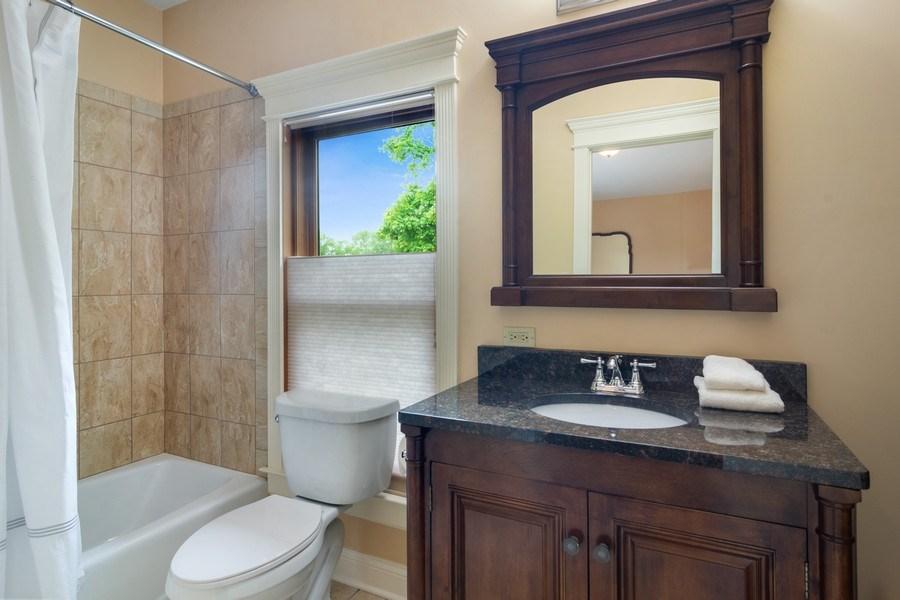 Real Estate Photography - 316 Dundee Avenue, Barrington, IL, 60010 - Bathroom