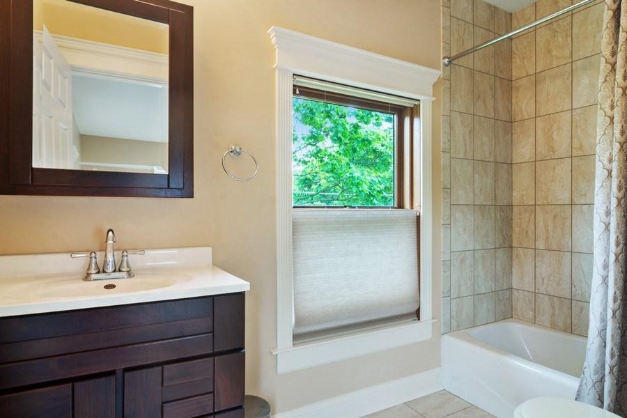 Real Estate Photography - 316 Dundee Avenue, Barrington, IL, 60010 - 2nd Bathroom