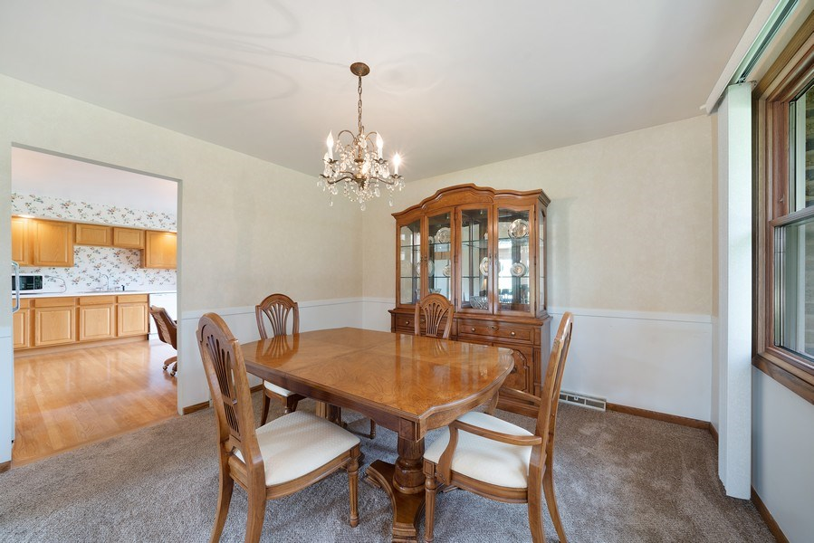 Real Estate Photography - 13322 S Adsit Rd, Palos Park, IL, 60464 - Dining Room
