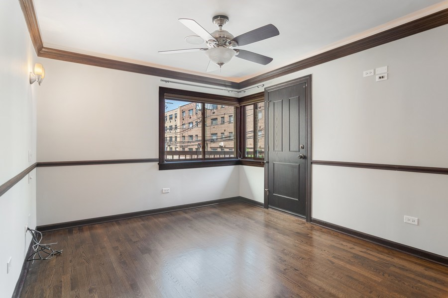 Real Estate Photography - 428 W Wellington, Unit B, Chicago, IL, 60657 - Master Bedroom