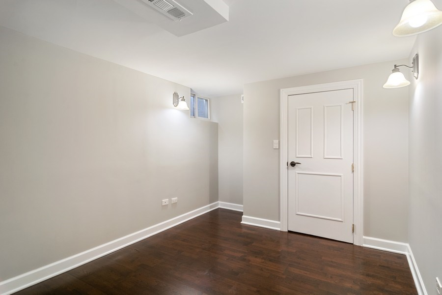 Real Estate Photography - 428 W Wellington, Unit B, Chicago, IL, 60657 - 3rd Bedroom