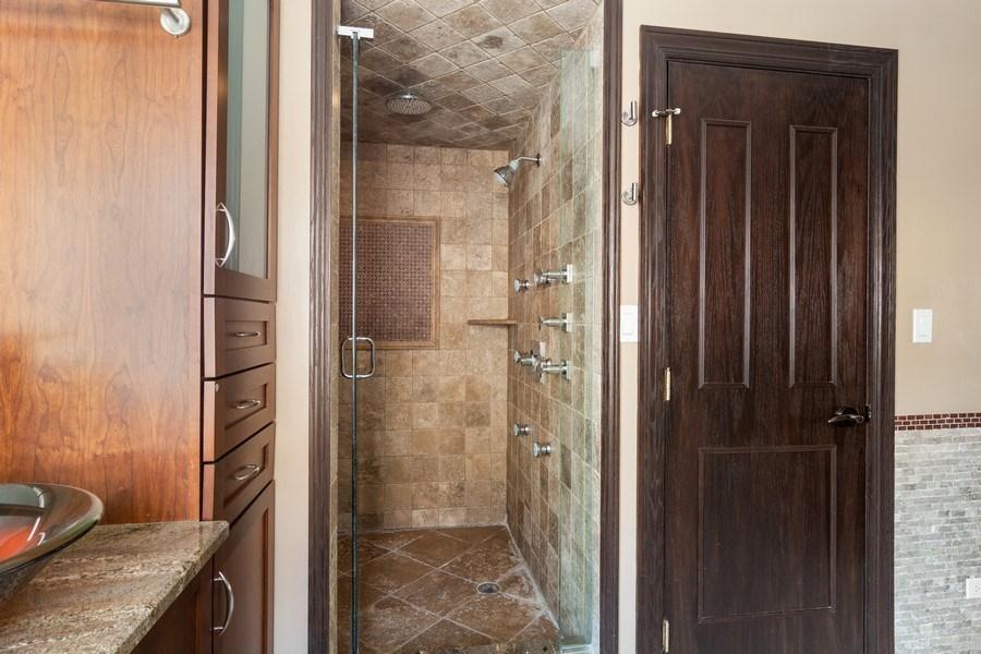 Real Estate Photography - 428 W Wellington, Unit B, Chicago, IL, 60657 - Master Bathroom
