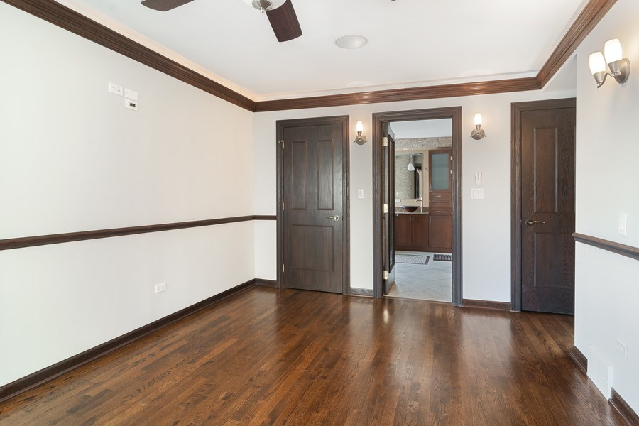 Real Estate Photography - 428 W Wellington, Unit B, Chicago, IL, 60657 - Master Bedroom-Two walk-in Closets