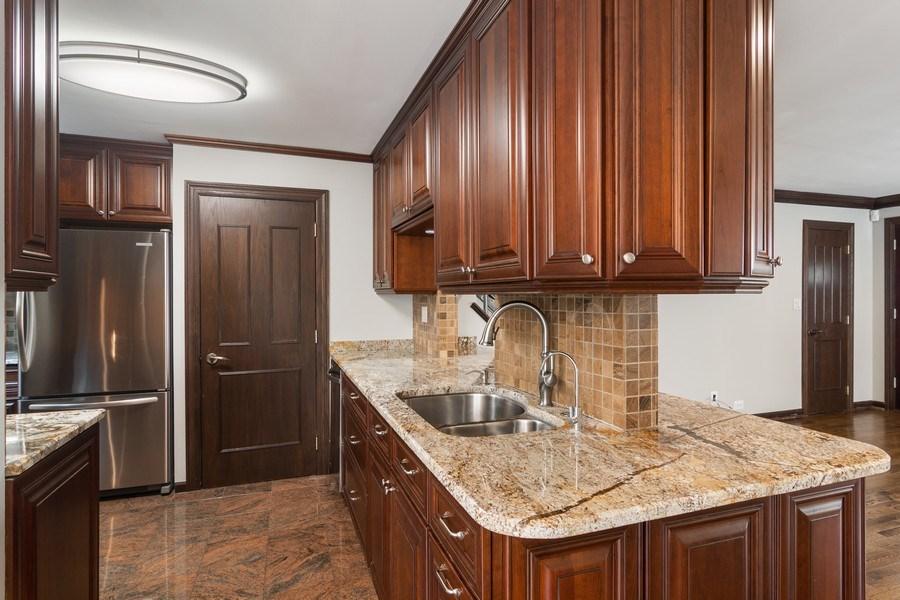 Real Estate Photography - 428 W Wellington, Unit B, Chicago, IL, 60657 - Kitchen