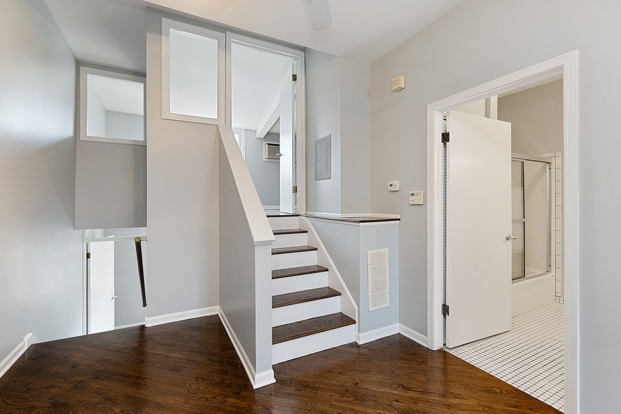 Real Estate Photography - 1913 W Armitage, Unit 2RW, Chicago, IL, 60622 - Staircase
