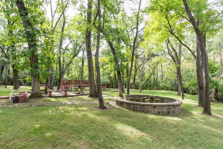 Real Estate Photography - 42 Danube Way, Olympia Fields, IL, 60461 - Back Yard